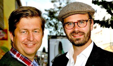 KAMPKLARE: Finn-Erik Blakstad og Trond Svandal (t.v.).