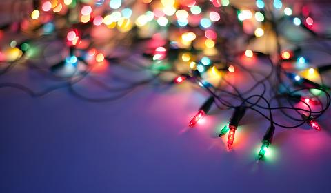Prøv å få til en ordning hvis du irriterer deg over naboens julelys.
