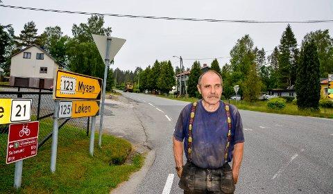 Odd Berget vil gjerne følge oppfordringen om et fellesanlegg for eiendommene ved Svendsbykrysset.