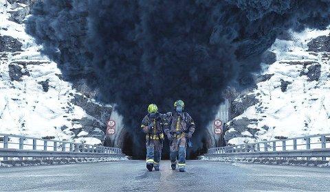 POPULÆR: Over 100.000 har so langt løyst billett for å få med seg den nye norske filmen Tunnelen. (Foto: Nordisk film)
