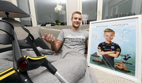 Stian Rode Gregersen har vært den beste spilleren i 1. divisjon i år ifølge NTBs spillerbørs. Foto: Rune Edøy