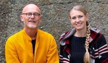 Lars Egeland og Grete Wold