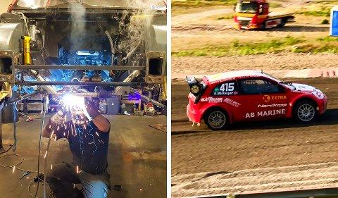 BYTTET BIL: Robin Slåttekjær har byttet tilbake til sin Ford Fiesta etter å ha kjørt sin BMW E30 M3 de første fire NM-rundene.