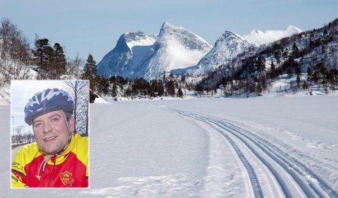 Leder i Bodø Friluftsforum, Terje Cruickshank, ønsker ikke å eksludere hunder fra skiløypene i bodømarka.