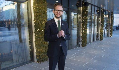 Yngve Hansen er lifestyle concierge ved Hotel Norge by Scandic.  FOTO: MAGNE TURØY