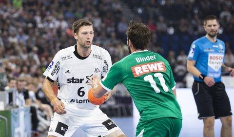 Bergenser Harald Reinkind (28) spiller for den regjerende mesteren THW Kiel i Bundesliga, i tillegg til å kjempe om edelt metall for landslaget.