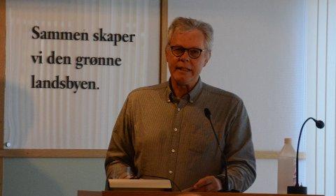 Økonomisjef: Per Blikra i Randaberg kommune sa at han aldri tidligere har opplevd en mer usikker vår med å skulle forberede budsjett og økonomiplan for neste år som nå.