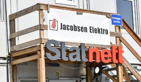 Sylling transformatostasjon Statnett Jacobsen Elektro