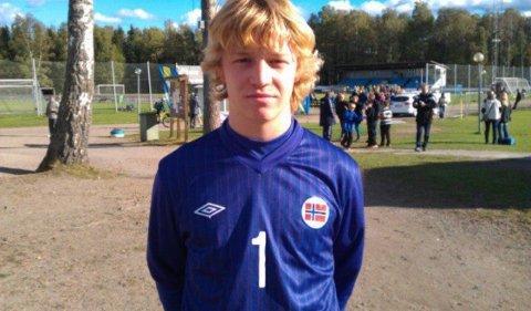 SISTESKANSE: Eirik Johannessen har flere aldersbestemte landslagskamper på CVen. I dag spiller han fotball i tredjedivisjon og stortrives med det.