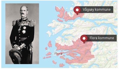 IKKJE FORANKRA I FOLKET: Skal tru kva kong Haakon hadde sagt til misfosteret Kinn kommune, danna mot folkeviljen?