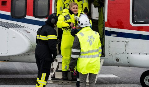 Det var etter åpningen av Johan Sverdrupfeltet i Nordsjøen at statsminister Erna Solberg ville ha fastfood-tips på hjemveien.