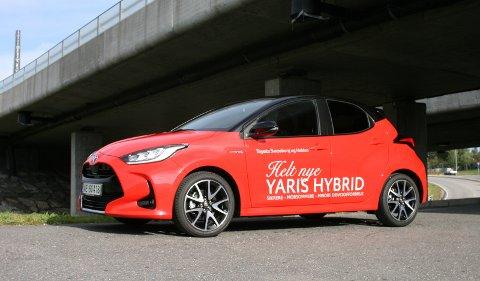 ALT ER NYTT: Nye Yaris er raskere, sterkere og artigere å kjøre sammenlignet med forgjengeren. Den er en av de sikreste bilene i småbil-klassen. Det er mye som tyder på at den vil holde sin sterke posisjon i markedet.