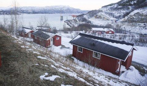KAN BLI AKUTTMOTTAK: Caminghyttene på Orneshaugen kan om kort tid bli akuttmottak for flyktninger.