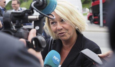 Kommunal- og moderniseringsminister Monica Mæland. Arkivfoto.