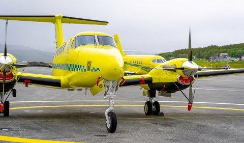 I LUFTA: Babcock regner med å ha de to øvrige flyene klare i løpet av kort tid.