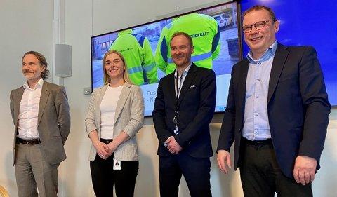 FUSJONSPLANER: Administrerende direktør i Nordkraft, Eirik Frantzen og Hålogaland Kraft holder pressekonferanse om fusjonsplanene tirsdag klokken 10.