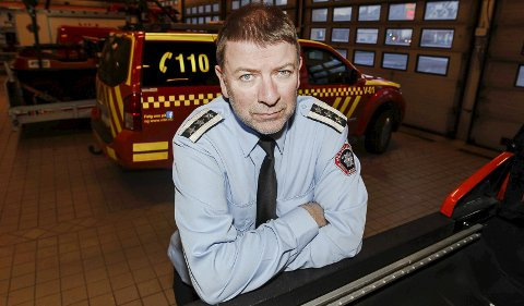 SJEF: Brannsjef Per Olav Pettersen minner om at alminnelig forbud mot å gjøre opp ild i utmarka gjelder fremdeles..