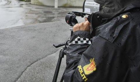 Politiet stoppet onsdag kveld en ung fører på E39.