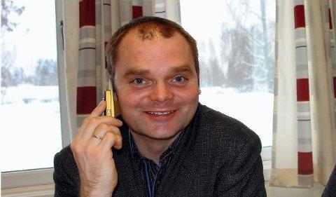 BEDRE NETT: Pål Lukashaugen hos Telenor.