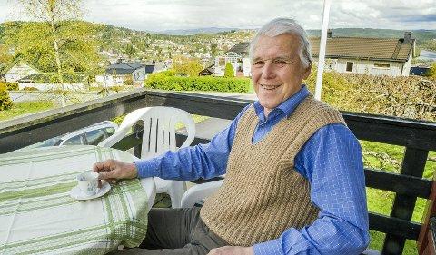 FRARÅDER: Thor Ringsbu, kommunestyrerepresentant for Kr.F. i Kongsvinger, misliker at Knut Arild Hareide vil dreie partiet mot Ap og Sp.FOTO: JENS HAUGEN