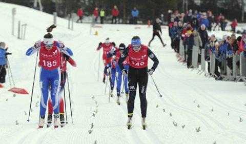 I form: Marie Sølverud Wangen gikk tre gode renn i forbindelse med helgas norgescupåpning på Konnerud.