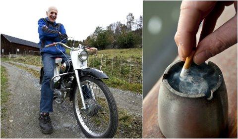 Mandag 23. oktober er Sluttedagen. - Stump røyken, det er fryktelig usunt og en stor pengesluk, oppfordrer Skogly.