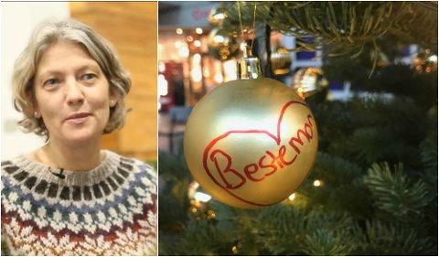 Anne Anker Bolstad har innført et savner deg-juletre for studentene.