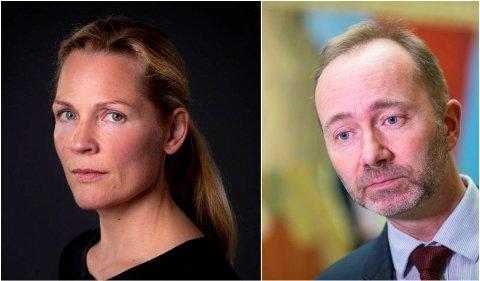 Åsne Seierstad jobber med et nytt bokprosjekt om Metoo-kampanjen, Ap og Trond Giske.