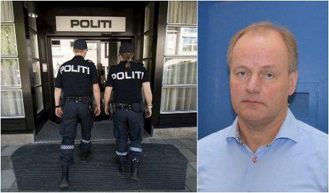 ALTFOR FÅ: Finn Arne Hvalbye, nestleder i Politiets Fellesforbund Innlandet, mener Innlandet trenger 130-140 flere stillinger.