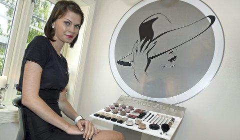 Sin egen sjef: Andrine Nyhus Rækken (25) har åpnet skjønnhetssalongen Andrines Velvære i store og lyse lokaler på Augedalstorget i Brandbu.