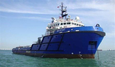 «Sea Stoat» er et av tre skip som selges.
