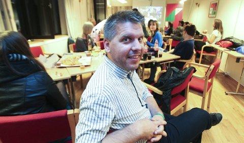 Spennende: Årets valg kan bli spennende for Marius Jøsevold og SV.Foto: Helge Grønmo