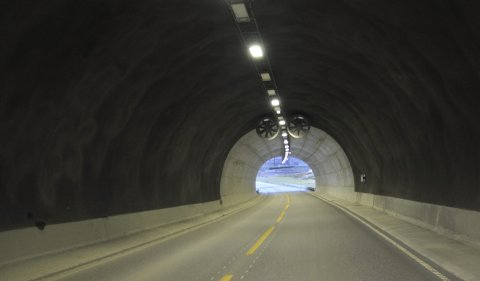 Illustrasjonsfoto tunnel.