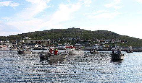 KLARE FOR VM: Neste år skal VM i kveitefiske arrangeres i Havøysund.