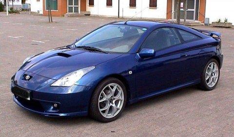 STJÅLET: Det var denne bilen som ble stjålet fra Prestøya natt til søndag.