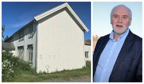 Styreleder i Torolvstein AS, Kalle Tysnes, er glad for at de får kjøpe Meisfjordgården på Sandnes for 1 krone. - Vi skal sette bygget i stand og ta vare på historien, sier han.