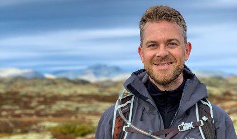 GLEDER SEG: Harald Nygaard Kvam (38) forlater snart jobben sin i Politidirektoratet for å begynne å jobbe ved Romerikes største arbeidsplass.