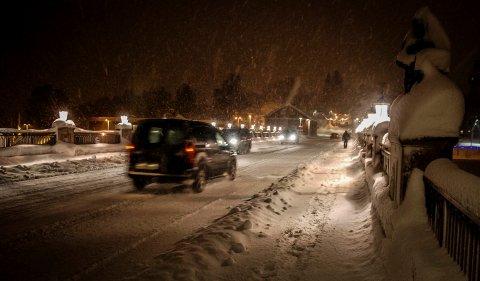 Det har kommet mye snø den siste tiden, og mer skal det bli. Dette er fra forrige snørunde, i uke 1.