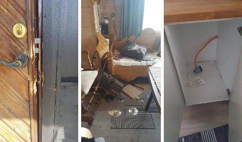 En hytte på Blefjell er ribbet for utstyr etter et innbrudd i løpet av de siste to ukene.
