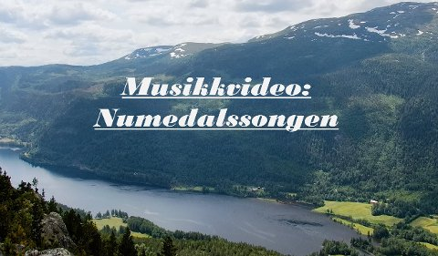 "VIDEO: Espen Bålerud har laget musikkvideoen til ""Numedalssongen""."