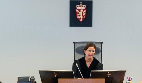 DOMMER: Tingrettsdommer Hilde K. Sakariassen skal være enedommer når tilståelsessaken mot en lyngdøl som drakk alkohol etter et trafikkuhell kommer opp i januar.