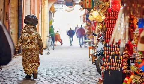 Eksotisk: Marrakech er en eksotisk  by for mange.