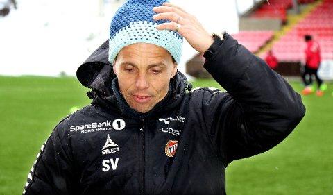 Simo Valakari venter nok helt til søndag før han tar ut den endelig troppen til kampen mot Rosenborg.