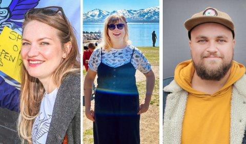 Henriette Myrlund (til venstre) tar over ledelsen forkommunikasjon og Isak Harbitz blir ny bookingsjef når tidligere kommunikasjonssjef og kunstnerisk leder, Kristine Marie Børresen søker nye utfordringer i ny jobb.