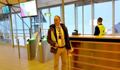 MÅ RETTE AVVIK: Stein Terje Dahl, adm.dir i FlyViking, sier de jobber målrettet med å lukke avvikene fra Luftfartstilsynet.