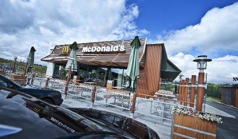 """SMITTE: Det meldes nok en gang om smitte på McDonald""""s i Nygårdskrysset."""