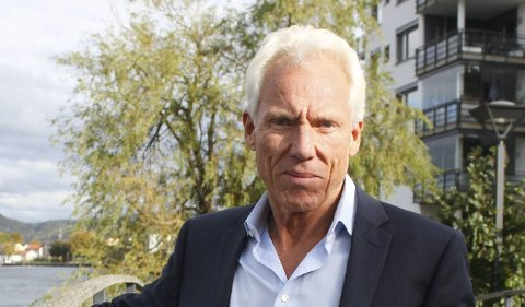 Var med: Petter Øygarden var med i den første planfasen av flytende boliger i Horten.