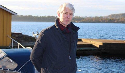 – Hele denne saken med prosjektet Innseiling Grenland viser Kystverkets manglende respekt og vilje til å ta ansvar for ulemper de påfører andre mennesker, sier Peter Kristoffer Meyer som er eier av Gjeterøya.