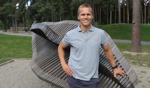 HATTRICK: Magnus Therkelsen scoret tre mot Gulset.