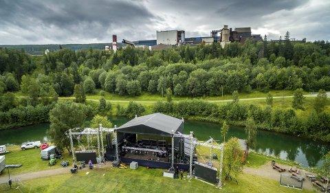 ENDA GRØNNERE: Verketfestivalen har inngått samarbeid med avfallsselskapet Østbø for å bli bedre på gjenvinning og søppelsortering.foto: Lars Solbakken